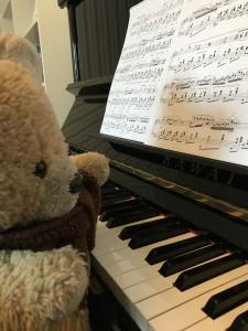 Jussinalle ja piano
